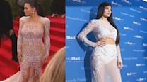 Kylie Jenner Pulls a Kim Kardashian, Wears Dress Just Like Her Sister's