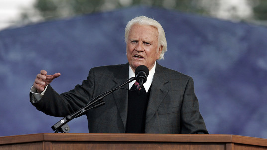 The Rev. Billy Graham dead at 99