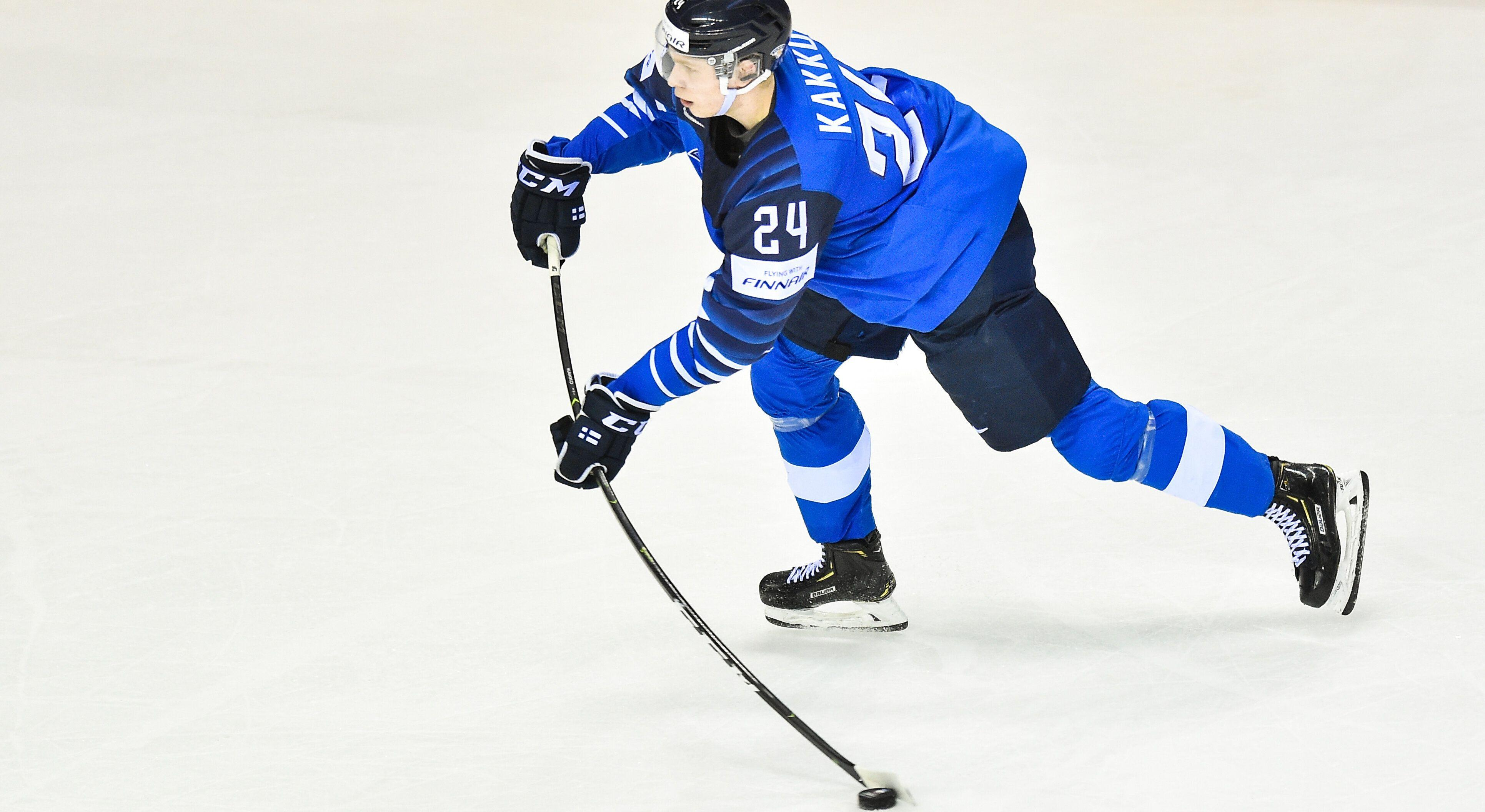 Kaapo Kakko believes he could go first overall at NHL Entry Draft