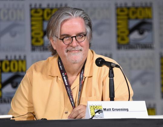 Netflix will stream Matt Groening's fantasy cartoon 'Disenchanted'