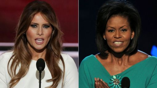 Michelle Obama on Melania Trump's Controversial Convention Speech: 'That Was Tough'