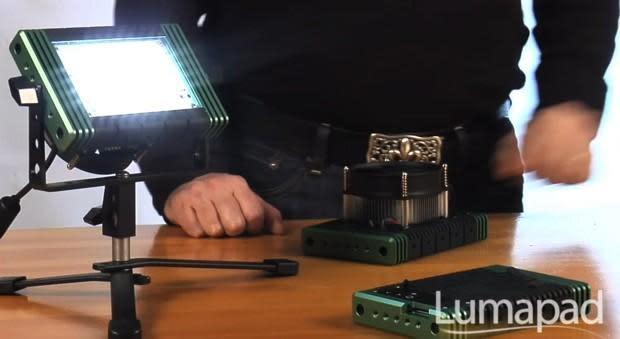 Insert Coin: Lumapad turns anywhere into a disco (video)