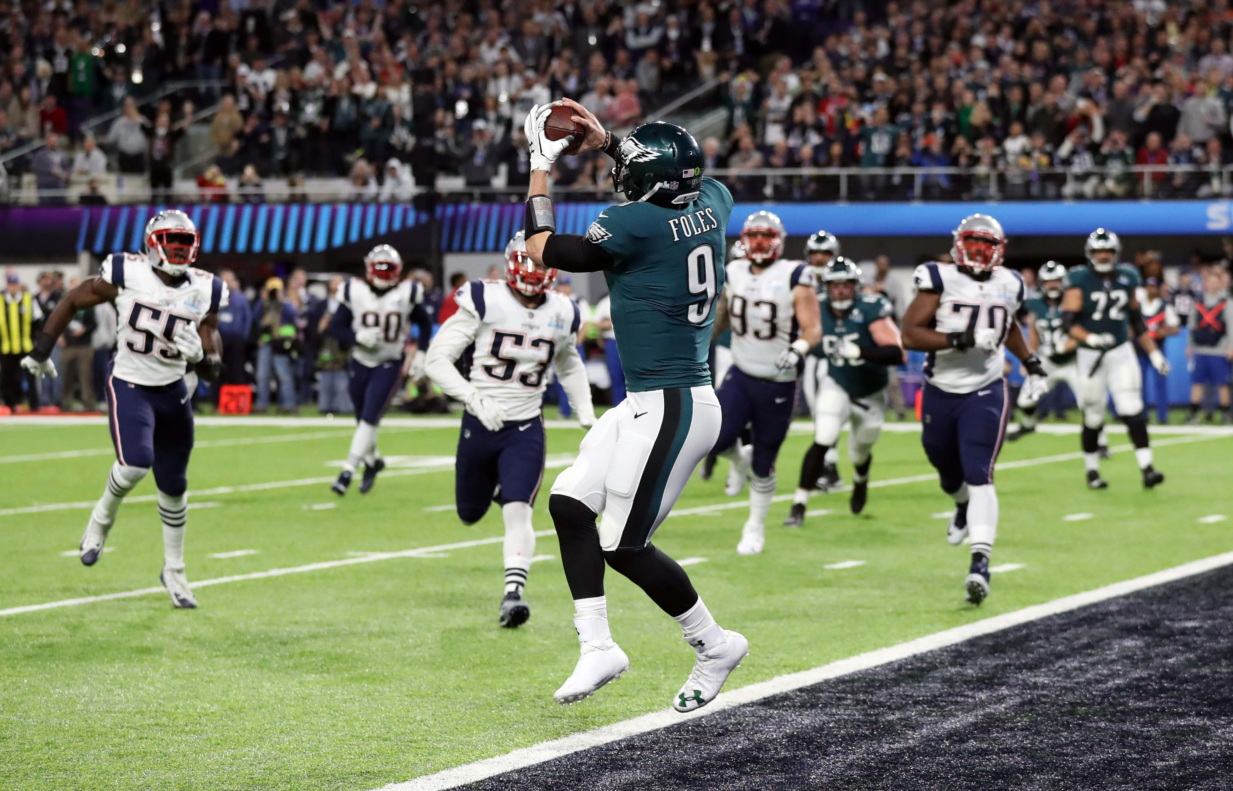 8882e6b25 Eagles beat Patriots in epic Super Bowl LII