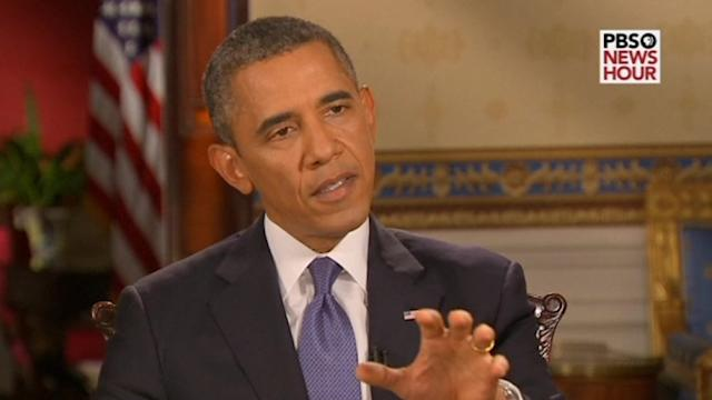 Obama says he talked to Putin about Syria's chemical weapons