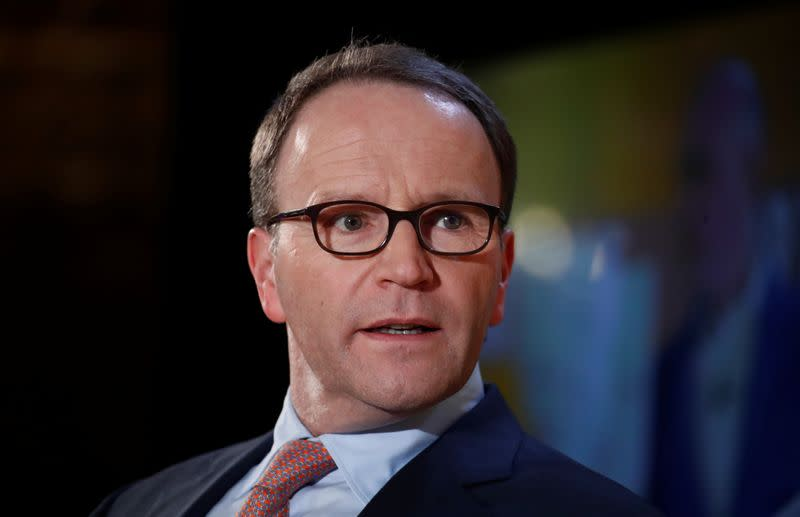Nestle CEO Mark Schneider speaks during the Fortune Global Forum in Paris
