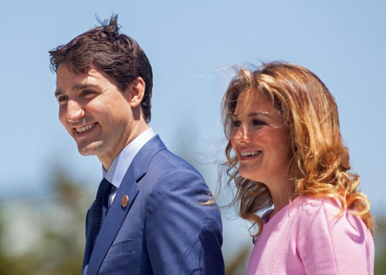 Sophie Gregoire-Trudeau, the wife of Canadian Prime Minister Justin Trudeau, has tested positive for the new coronavirus
