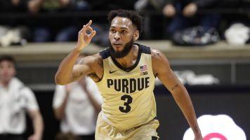 Stifling defense helps Purdue blow out No. 5 Virginia 69-40