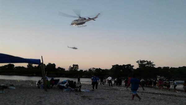 Search underway for missing jet skiers on Coney Island