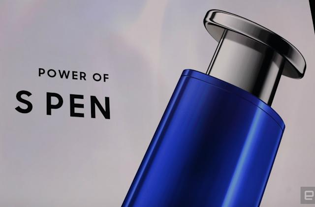 The Galaxy Note 10 S Pen is also a wand that controls your phone