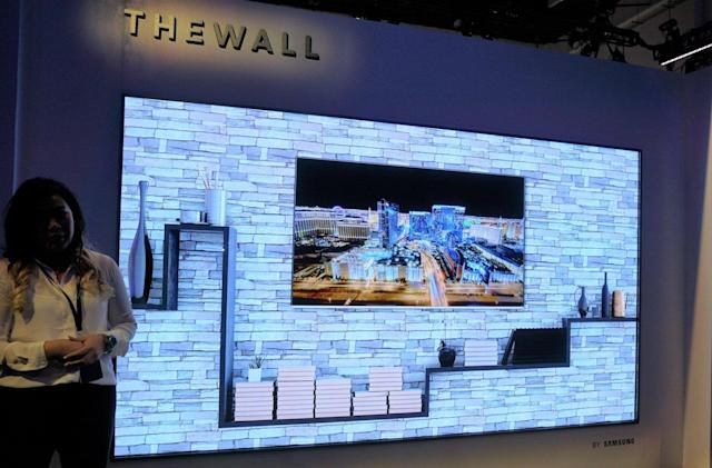 Samsung plans to turn 'The Wall' display into a home TV