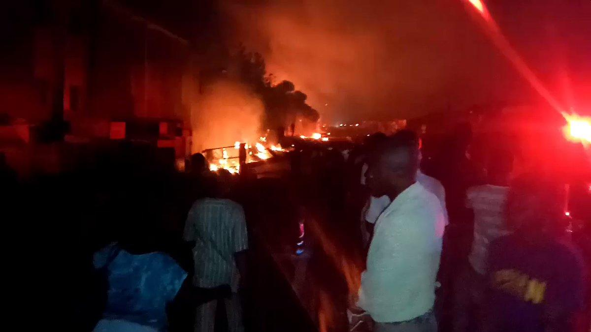 Oil Pipeline Explodes In Lagos, Killing at Least Two People - Yahoo News