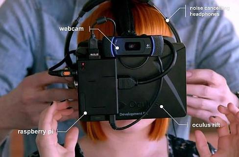 This ad uses Oculus Rift to show how internet lag could ruin making brunch