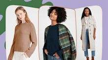Banana Republic Is Having a Sale on Sale Items, So We're Stocking Up on Cozy Cardigans, Sweaters, and Jackets