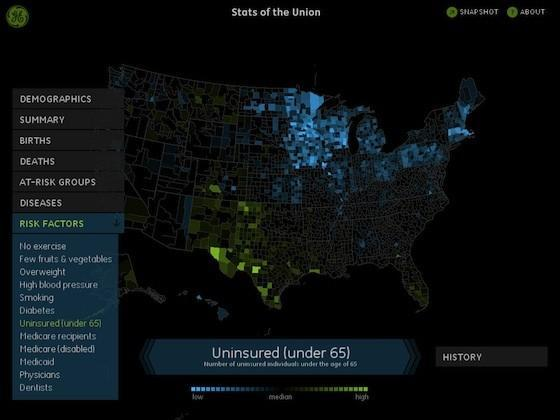 Stats of the Union brings American demographic data to the iPad