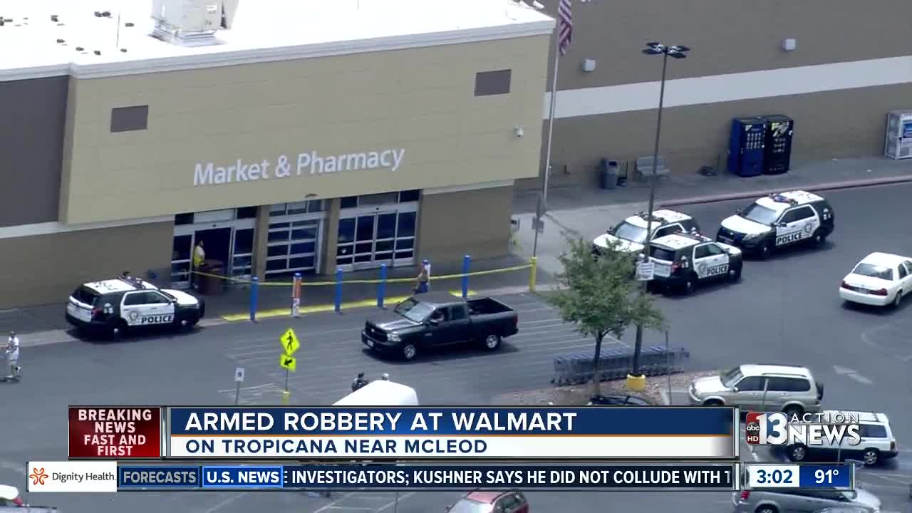 Walmart robbed near Tropicana and McLeod [Video]