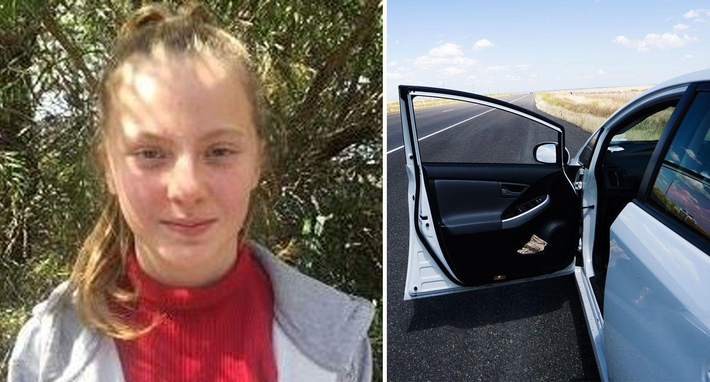 Girl, 13, missing for more than a week after getting into stranger's car