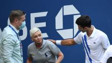 Djokovic says doing best to control on-court emotions after U.S. Open default