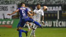 Cautela de Jesualdo fez com que Marinho não fosse titular no empate do Santos contra o Santo André