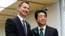 Hunt tells Japan: We don't want a no-deal Brexit