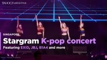 EXID, JBJ and B1A4 for Stargram K-pop concert in Singapore