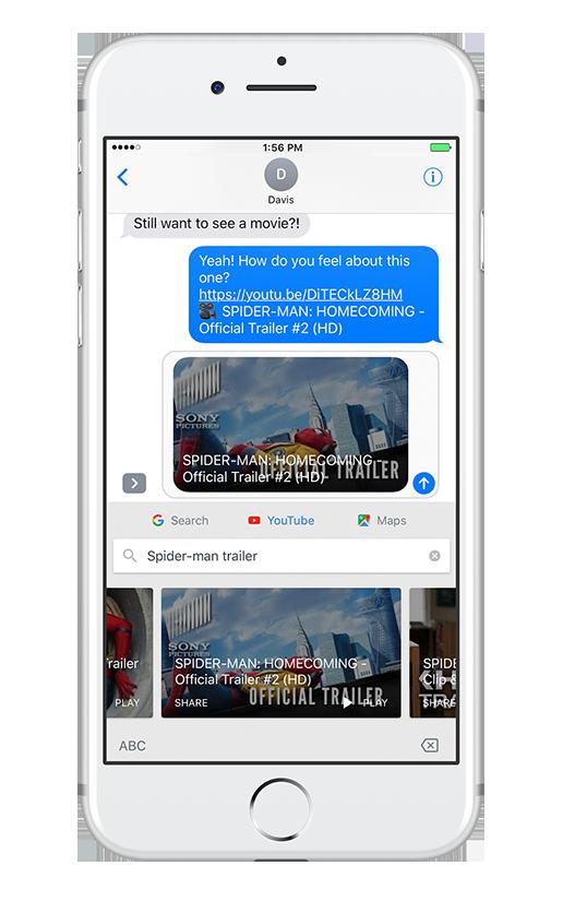 Googleのキーボードアプリ「Gboard」、iOS版がYouTubeとGoogle Mapsに対応 - Engadget 日本版