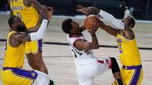 NBA/真的是剋星!洛瑞狂砍33分 暴龍對湖人11連勝