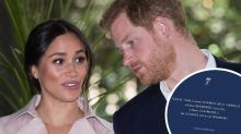 Fans call out Harry and Meghan's 'embarrassing' social media gaffe