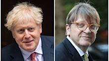 Boris Johnson's 'oven-ready Brexit deal' mocked by Guy Verhofstadt