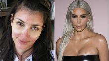 Así son las Kardashians sin maquillaje