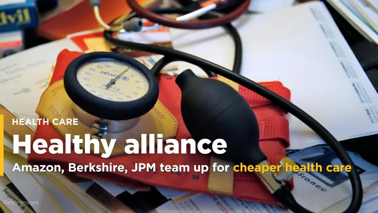 Amazon, Berkshire, JPM team up for cheaper employee healthcare [Video]