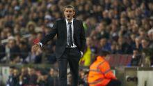 Valverde: sit and talk