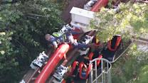California roller coaster derails, injures six