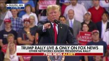 Meltdown in Duluth: Trump yells at protesters and 'elites' at rally