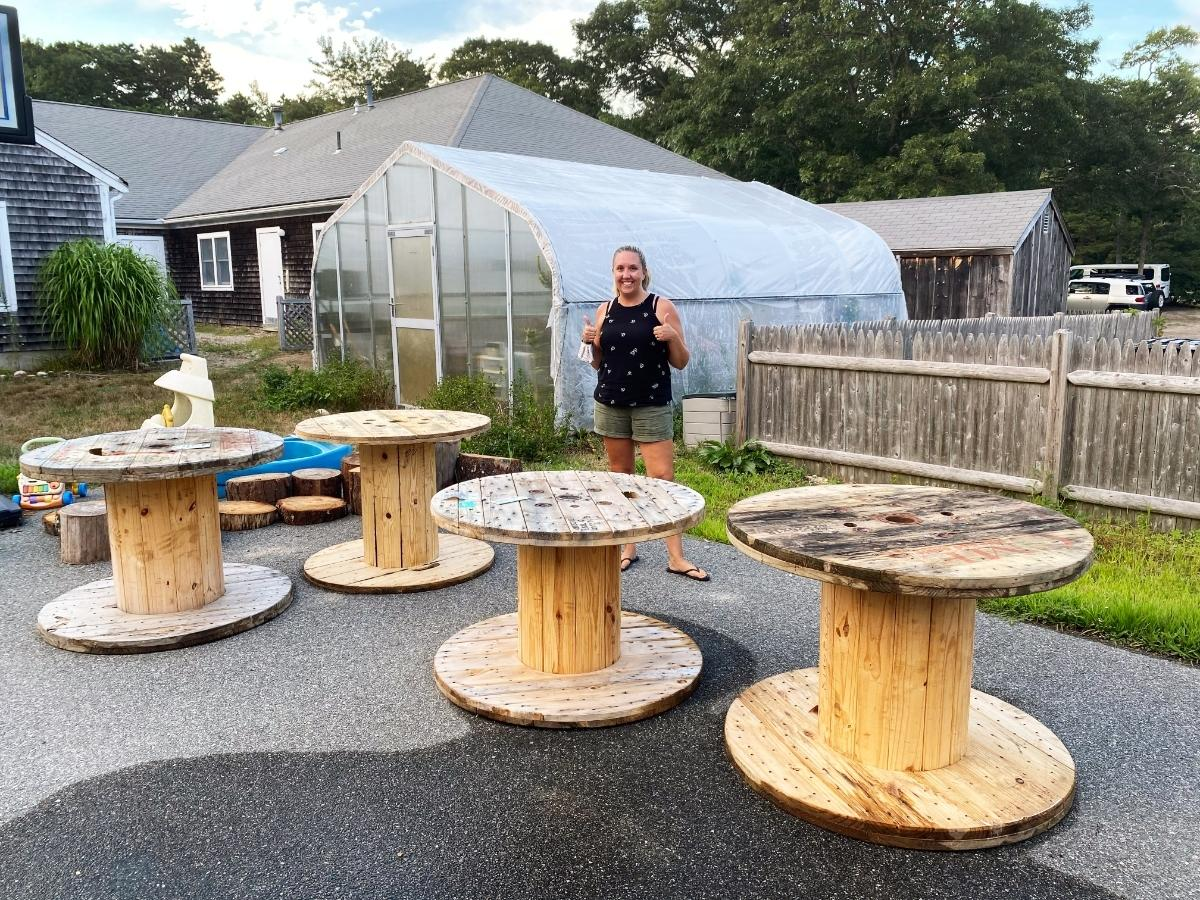 Regional Small business Donates Tables For Out of doors Mastering: Cape Cod Hero