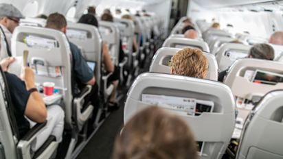 A debate rages over airplane seat reclining