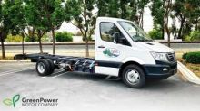 GreenPower Delivers Five EV Star Cab and Chassis to Forest River