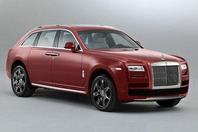 勞斯萊斯首款SUV車型?!預計2018年登場