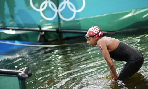 Alice Dearing makes history but Team GB's first female black swimmer leaves 'broken'