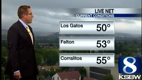 Get Your Tuesday KSBW Weather Forecast 6.18.13
