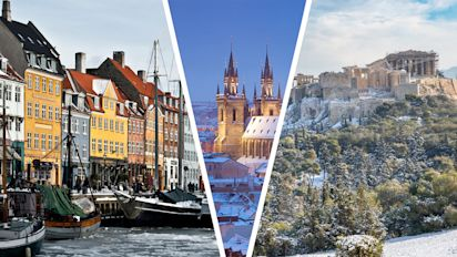 The best European cities to visit during the winter