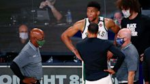 Bucks' Giannis Antetokounmpo: Agents will position me to succeed 'with the team or another team'
