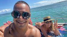 Carla e Xanddy curtem dia de folga na Bahia: 'Só alegria'