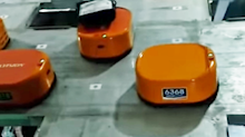 A Chinese company hired an army of robots to cut worker costs