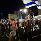 Thousands of protesters gather to call for Netanyahu's resignation, despite a strict second lockdown