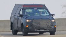 This could be a Ford Focus-based pickup truck