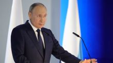 Putin says Ukraine is becoming an 'anti-Russia', pledges response