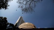 Indian shares end flat; Reliance gains, financials weigh