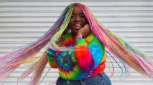 The ecstatic rise of rainbow hair: 'I have one life. I'm going to live it colourfully!'