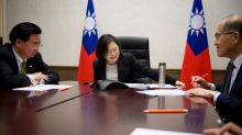 China lodges protest after Trump call with Taiwan president