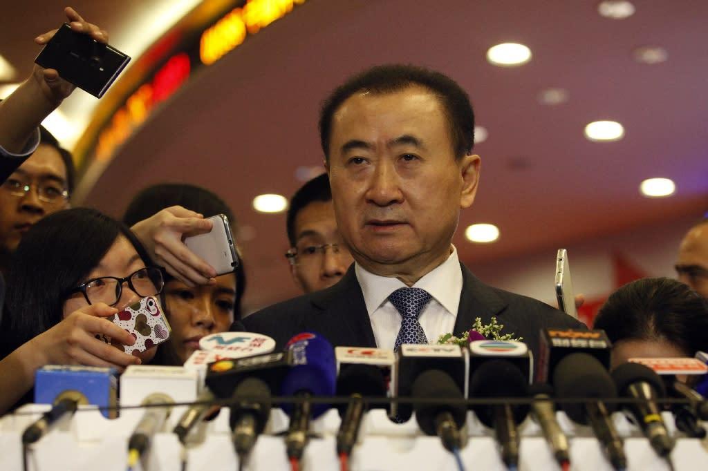 China tycoon Wang considers delisting Wanda unit